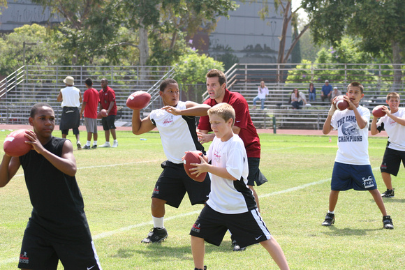 Matt Leinart football camp